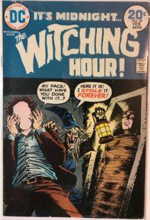 Witching hour dc comics benzi desenate vechi