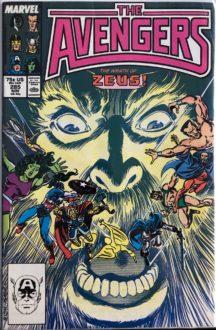 Avengers 285 comics vechi romania bucuresti livrare