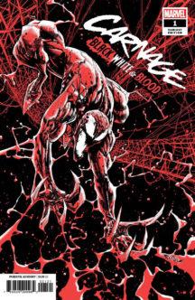 Carnage black white blood venom benzi noi marvel