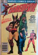Daredevil 196 wolverine benzi desenate vechi