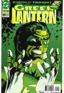 Green lantern kyle rayner dc comics sinestro