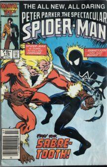Spectacular Spider-Man 116 comics vechi romania