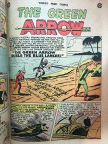 World's Finest 43 comics gold age superman batman