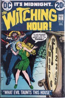 Witching Hour benzi desenate dc comics vechi vintage