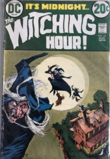 Witching HOur dc comics vechi vintage romania horror