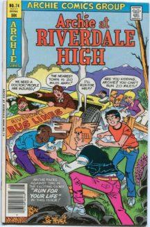 Archie Riverdale High benzi vechi
