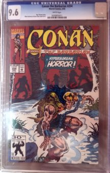 Conan 254 cgc 9.6 benzi desenate cbcs