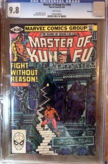Kung-fu 104 cgc benzi incapsulate graded romania