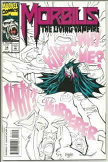 Morbius Living Vampire benzi desenate noi marvel