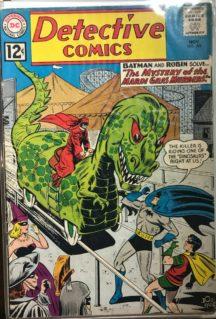 DC Comics detective comics batman benzi vechi vintage