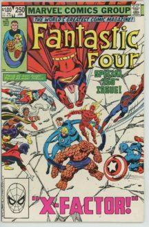 Fantastic Four marvel benzi desenate vechi vintage