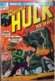 Rhino Hulk benzi desenate comics vechi