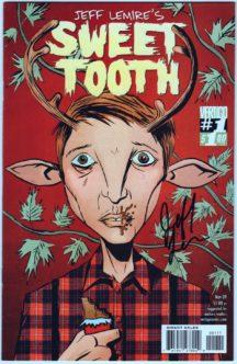 Sweet tooth benzi desenate noi netflix show comic #1