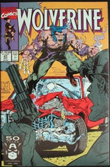 Wolverine 47 benzi desenave noi vechi marvel