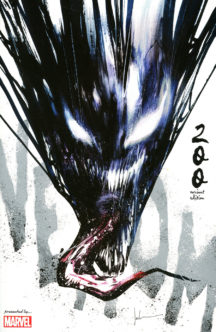 Venom jock cover marvel comics