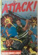 Attack gold age comic