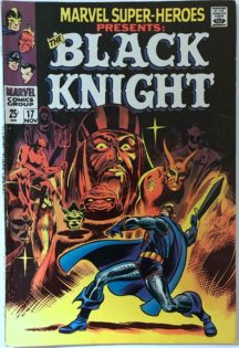 marvel super heroes 17 black knight silver age