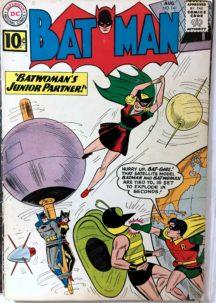 Batman 141 Batwoman dc comics silver age