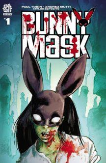 Benzi desenate noi horror aftershock bunny mask