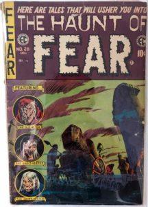Haunt of Fear 28 comic old horror