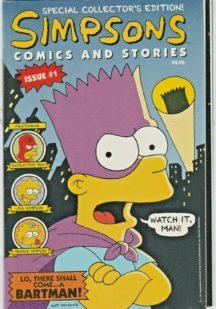 Simpsons comics stories 1 benzi desenate