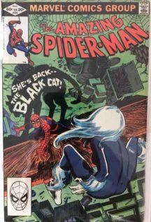 Spider-Man 226 black cat hot comic