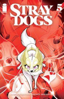 Stray Dogs cover C benzi desenate noi image comics