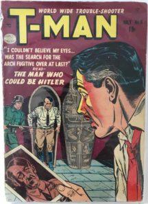 T-Man 6 hitler comic benzi desenate ww2