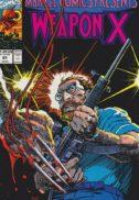 Weapon X marvel benzi desenate vechi