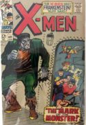 X-Men 40 Frankenstein first marvel